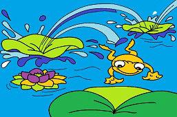 Skacząca żaba