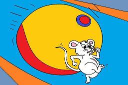Uciekaj, myszko, uciekaj!
