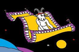 Koziołek i latający dywan