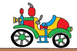 Historyczny samochód