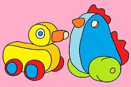Kogut i kaczka