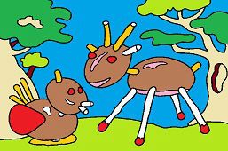 Zwierzęta z kasztanów