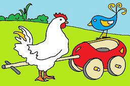 Kura i słowik
