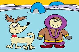 Eskimo i pies