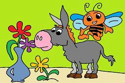 Osioł i pszczołka