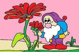 Karzeł i kwiat