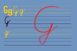 Piszemy literki – G
