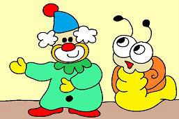 Klaun i ślimak