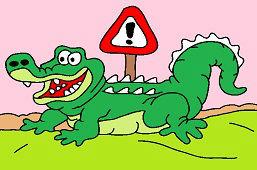 Uważaj na krokodyle!