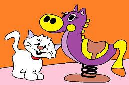 Kucyk i kotek