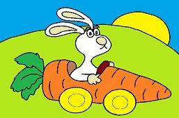 Samochód marchewkowy