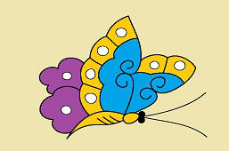 Motyl ogrodowy