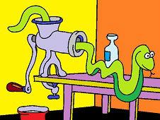 Wąż w kuchni