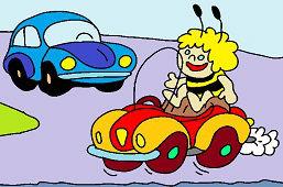 Maja i samochód