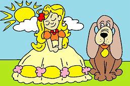 Księżniczka z psem
