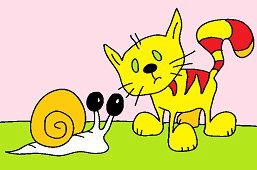 Kotek i ślimak