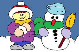 Śniegowy kolega