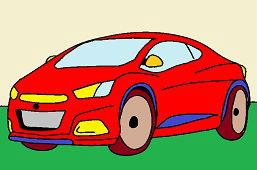 Szybki samochód wyścigowy