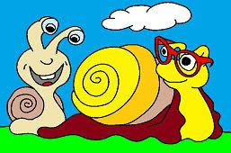 Dwa ślimaki