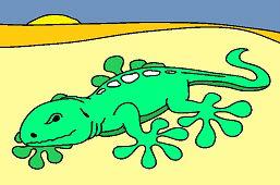 Jaszczurka Salamander