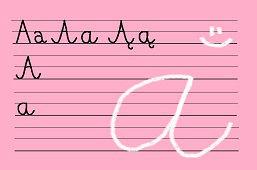 Piszemy literki – A
