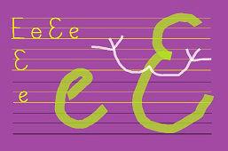 Piszemy literki – E