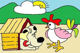 Kurczak i pies