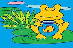 Żaba i ryba