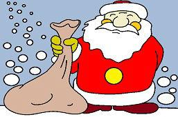 Mikołaj z workiem