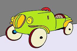 Stary samochód wyścigowy