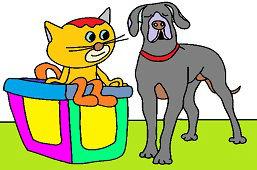 Pies i kotek