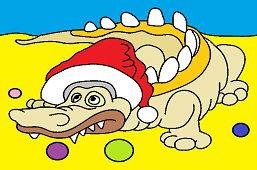 Krokodyl na Boże Narodzenie