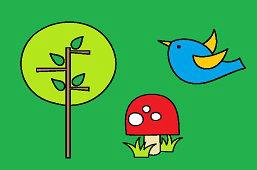 Ptaszek i drzewo