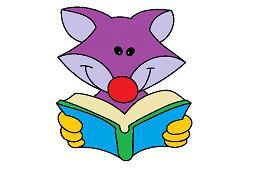 Lis z książką