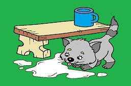 Rozlane mleko