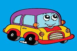 Wesołych samochód
