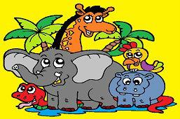 Zwierzęta z Afryki