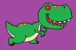 Dinozaur Tyrannosaurus