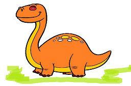Dinozaur Brontosaurus