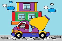 Kierowca piesek