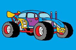 Samochód wyścigowy Buggy