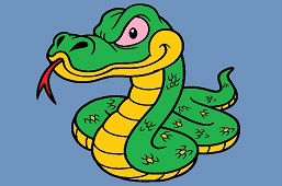 Duży wąż