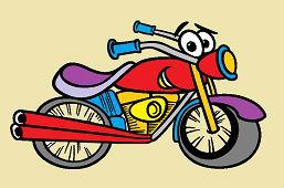 Wesoły motocykl