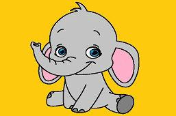 Młody słoń