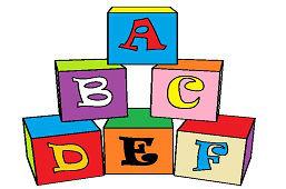 Kostki Alfabet