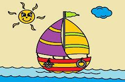 Wycieczka na morzu