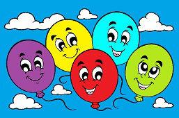 Wesołe balony
