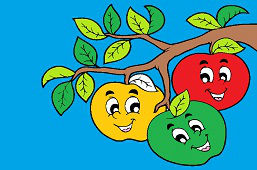 Trzy jabłuszka