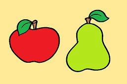 Jabłuszko i gruszka