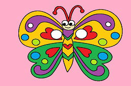 Maska karnawałowa – Motyl